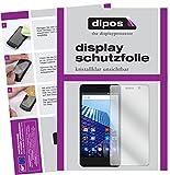 dipos I 6X Schutzfolie klar passend für Archos Access 50 Color Folie Bildschirmschutzfolie