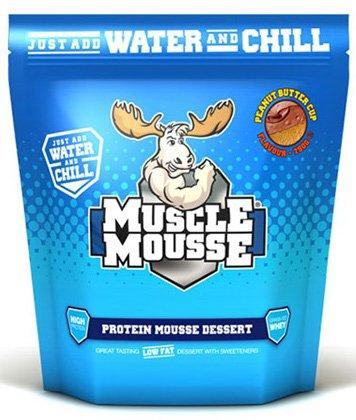 Muscle Mousse Protein Mousse Dessert Eiweiß Nachtisch Pudding Glutenfrei Diät Bodybuilding 750g (Chocolate - Schokolade) - Protein Mousse