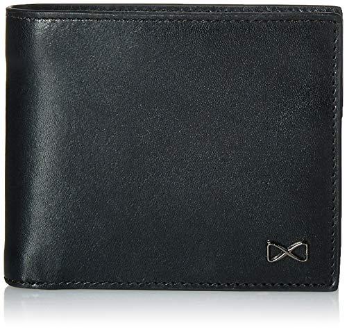 Trafalgar Herren RFID Leather Traveler Passcase Wallet Falt-Brieftasche, schwarz, Einheitsgröße - Schwarz Leder Wallet Passcase