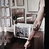 Tatuaggio Temporaneo Realistico di artista 'Old School Spider Woman & Dagger' - ArtWear Tattoo Beauty – B9987 M