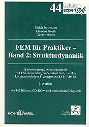 FEM für Praktiker, m. CD-ROM, Bd.2, Strukturdynamik, m. 1 CD-ROM