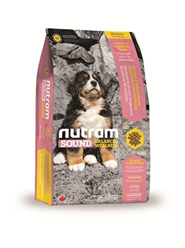 Nutram S3 Sound Balanced Wellness® Natural Large Bread Puppy RICETTA OLISTICA CON CARNE DI POLLO E AVENA da kg 13,6
