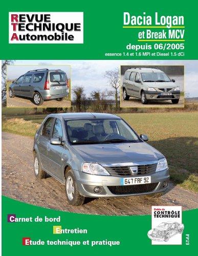 Revue Technique B727.5 Dacia Logan+Mcv<06/2005 Ess1.4/1.6+1.5dci