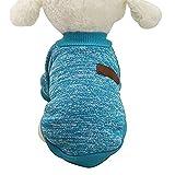 Myfei mignon Automne et Hiver chaud Pull Vêtements, doux pour chien Puppy Pet Veste mode Pull Vêtements