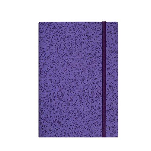 NTCYTaccuino Quaderno A5 Da Ufficio,Notebook Da Lavoro,Lavoro Da Studio,Memo,Ispessimento Di 320 Pagine Con Confezione Regalo,Violet