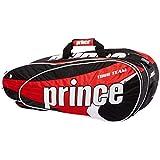 Prince Schlägertaschen Tour Team 9 Pack, Rot, 73.7 x 30.5 x 30.5 cm, 78 Liter, 6P874613