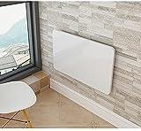 GWF Klapptisch Hängender Tisch Computer Schreibtisch Tisch Tisch Wand Tisch Faltbare Tabellen, weiß (größe : 100 * 40cm)