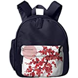 Best Sun Organic Umbrellas - Sakura Cherry Trees Branches Under The Red Sun Review