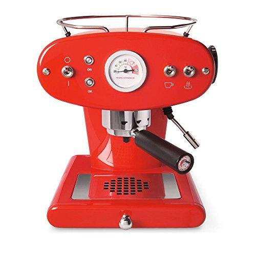 Illy FrancisFrancis! X1 Trio Espressomaschine für E.S.E System, rot