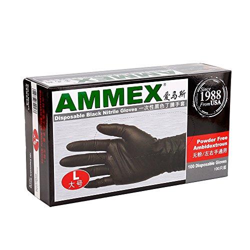 autorise-ammex-noir-jetable-nitrile-latex-gant-sans-poudre-taille-l-tc108-3