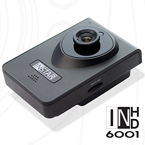 INSTAR IN-6001HD HD IP Kamera / Überwachungskamera / ipcam mit LAN / Wlan / Wifi zur Überwachung oder als Baby Kamera (4 IR LED Infrarot Nachtsicht - 3