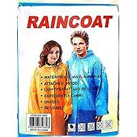 RainCoat Unısex Su Geçirmez Orta Kalın Yağmurluk