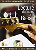 Tauzin Bruno Lecture Des Notes A La Basse Bass Guitar Book/Cd French