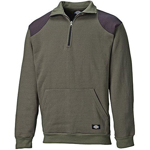 Dickies Fleece-Pullover Kendrick, 1 Stück, L, moosgrün, 8500 L