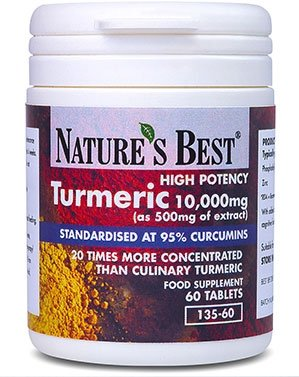 Turmeric 10,000mg – one of the UKs strongest and purest – 60 tablets, UK-made Test
