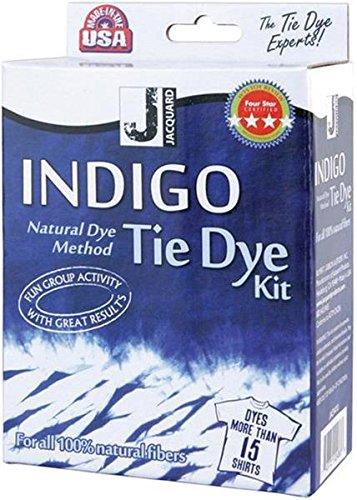 Jacquard Textilfarbe, Indigo, Mini-Set