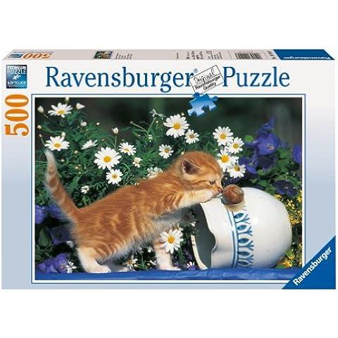 Ravensburger - Muy curioso, puzzle de 500 piezas (14104 3)