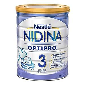 NESTLÉ NIDINA 3 OPTIPRO da 1 anno Latte per la crescita in polvere latta da 800 g