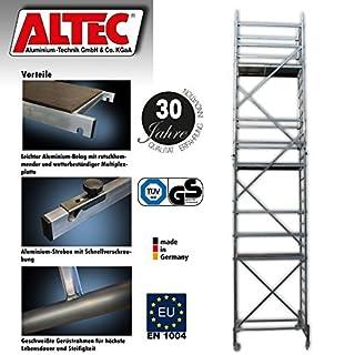 ALTEC Rollfix 800, Arbeitshöhe 8 m neu, inkl. Rollen, Fahrtraverse und Wandanker, TÜV-geprüft