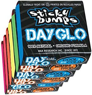 Sticky Bumps Day Glo Cool/Cold Surf Cera