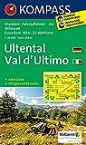 Ultental, Val d'Ultimo: Wanderkarte mit Aktiv Guide, Radrouten und Skitouren. GPS-genau. 1:25000 (KOMPASS-Wanderkarten, Band 52) -