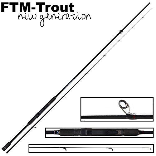 FTM Virus Spoon XP 5 2,20m 1-6g - Spinnrute zum Forellenangeln, Angelrute zum Spinnfischen auf Forellen, Forellenrute für Blinker
