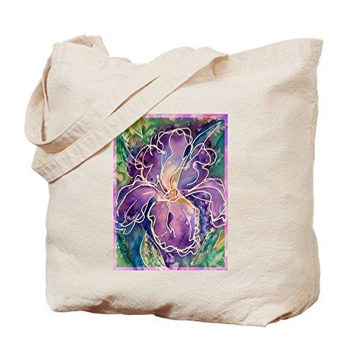CafePress–Iris mit schönen Farben mit Tuch–Canvas Handtasche, mit Tasche Tote M khaki