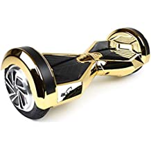 """Bluefin 8"""" Drifter Swegway Board Self Balancing Scooter with Built-in Bluetooth Speakers and Hover Carry Bag"""