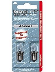 Maglite LWSA601 - Pack de bombillas de acampada y senderismo