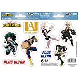 ABYstyle - MY Hero Academia - Pegatinas - 16x11cm - UA High School
