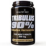 Best Tribulus Terrestris - HealthyHey Nutrition Tribulus Terrestris - 90% Saponins- 500 Review