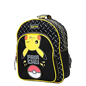 Mochila Pokémon Pikachu Nueva 31 cm