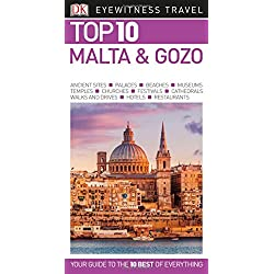 Top 10 Malta and Gozo (Dk Eyewitness Top 10 Travel Guide)