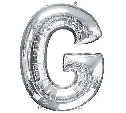 Buchstabe G Super Shape Folienballon (Halloween-kostüme Buchstaben G)