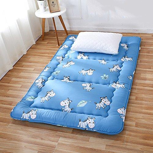 HYXL Faltbare Verdickung Tatami Boden Matratze,Allergiker-Geeignet Tatami-Matte matratze schlafsaal einzelbett matratze Kühlung-matratzenauflage-B 100x200cm(39x79inch)