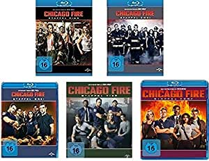 Chicago Fire - Staffel Eins bis Fünf im Set - Deutsche Originalware [26 Blu-rays]