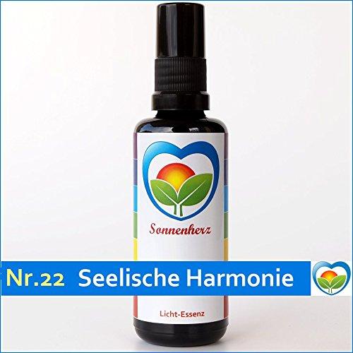 Energetische & feinstoffliche Lichtessenz Nr. 22 Seelische Harmonie von Sonnenherz - Auraspray, informierte Auraessenz, Sonnenessenz -