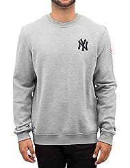 Sweat Shirt New Era Mlb New York Yankees Marine Homme