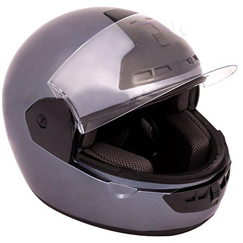 Integral Casco motocicleta o motocicleta, casco de cara completa...