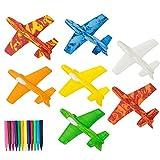 Gliders Styroporflieger - Form zum Spielen Wurfgleiter für Kinder Geschenke