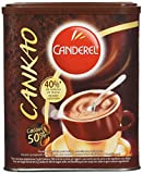 CANDEREL - Cankao - Poudre de Cacao - 38 % de Calories en moins - le Gout du Chocolat Sans Calorie - Boîte 250 g