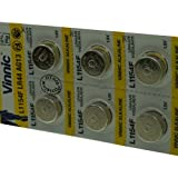 Packung 10 Batterien vinnic für Energizer S76E