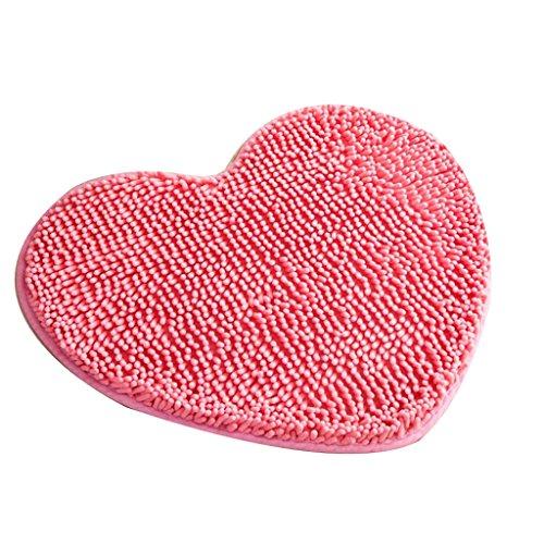 Mats Matratze Continental Liebe Polyester Fußmatte Osmanischen Küche Teppich Badezimmer Duschmatte Hause Matten (50 * 60 Cm) ( Farbe : C ) (Osmanische Matratze)