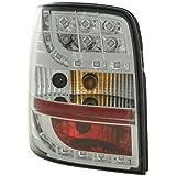 FK Automotive FKRLXLVW011001 - Faros traseros para VW Passat 3B (modelos de 1997 a 2000), color cromo