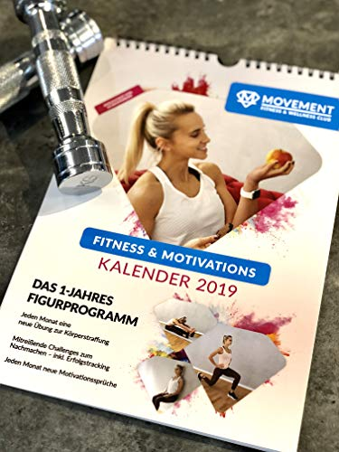 Fitness & Motivation Kalender 2019 (Motivations-kalender)