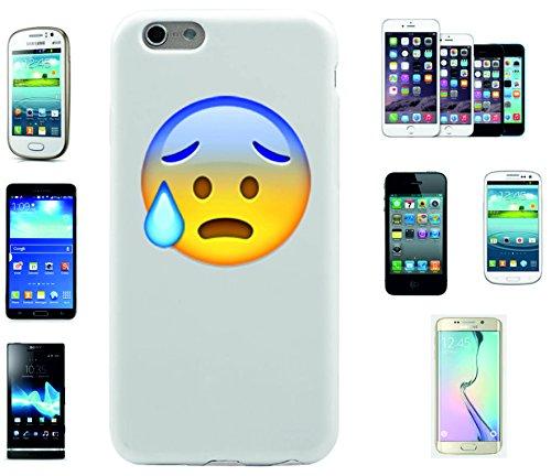 """Smartphone Case Apple IPhone 7+ Plus """"Gesicht mit offenem Mund und kaltem Schweiß"""", der wohl schönste Smartphone Schutz aller Zeiten."""