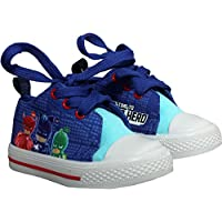 PJ MASKS Childrens Canvas Trainers Shoes - Spring Summer Collection