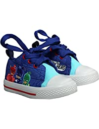 3a7aa7e4e6 PJ MASKS Childrens Canvas Trainers Shoes - Spring Summer Collection