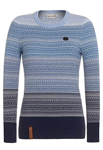 51um%2B6b0eYL - Desigual Damen Pullover JERS_CHANTALE, Blau (Marino 5001), Small