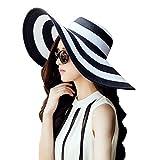 Best Los sombreros de ala - DRESHOW Ropa de playa para mujer Sombrero de Review